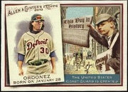 2010 Topps Allen and Ginter This Day in History Magglio Ordonez Baseball Card