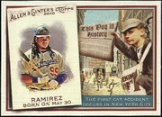 2010 Topps Allen and Ginter This Day in History Manny Ramirez Baseball Card