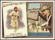 2010 Topps Allen and Ginter This Day in History Matt Holliday Baseball Card
