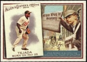 2010 Topps Allen and Ginter This Day in History Miguel Tejada Baseball Card