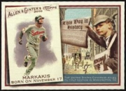 2010 Topps Allen and Ginter This Day in History Nick Markakis Baseball Card