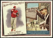 2010 Topps Allen and Ginter This Day in History Roy Halladay Baseball Card