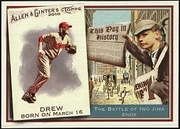 2010 Topps Allen and Ginter This Day in History Stephen Drew Baseball Card