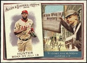 2010 Topps Allen and Ginter This Day in History Torii Hunter Baseball Card