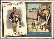 2010 Topps Allen and Ginter This Day in History Troy Tulowitzki Baseball Card
