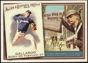 2010 Topps Allen and Ginter This Day in History Yovani Gallardo Baseball Card