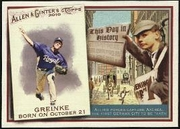 2010 Topps Allen and Ginter This Day in History Zack Greinke Baseball Card