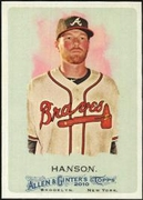 2010 Topps Allen and Ginter Tommy Hanson Baseball Card