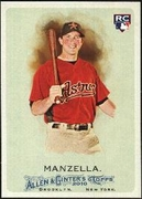 2010 Topps Allen and Ginter Tommy Manzella Baseball Card