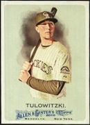 2010 Topps Allen and Ginter Troy Tulowitzki Baseball Card