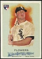 2010 Topps Allen and Ginter Tyler Flowers Rookie Baseball Card