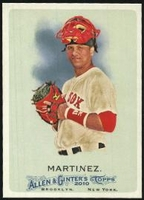 2010 Topps Allen and Ginter Victor Martinez Baseball Card