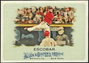 2010 Topps Allen and Ginter Yunel Escobar Baseball Card