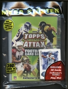 2010 Topps Attax Collectible NFL Football Card Game Mega Starter Pack