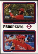 2010 Topps Cards Your Mom Threw Out Ryan Howard & Cole Hamels Baseball Card