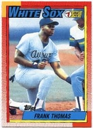 2010 Topps Cards Your Mother Threw Out Original Back Frank Thomas Baseball Card