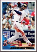 2010 Topps Factory Set Holiday Rookie Bonus Jason Heyward Baseball Card