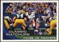 2010 Topps Favre vs. Packers Classic Matchups NFL Football Card