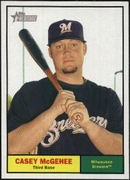 2010 Topps Heritage Casey McGehee Short Print Baseball Card