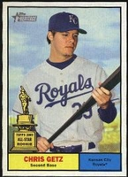 2010 Topps Heritage Chris Getz Baseball Card
