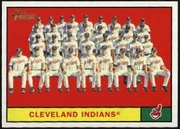 2010 Topps Heritage Cleveland Indians Team Baseball Card