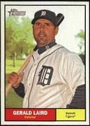 2010 Topps Heritage Gerald Laird Baseball Card