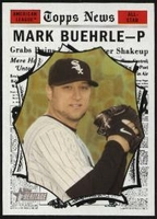2010 Topps Heritage Mark Buehrle All-Star Short Print Baseball Card