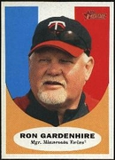 2010 Topps Heritage Ron Gardenhire Manager Baseball Card