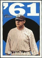 2010 Topps Heritage Ruth Chase 61 Babe Ruth Card #10 Baseball Card