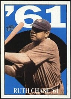 2010 Topps Heritage Ruth Chase 61 Babe Ruth Card #14 Baseball Card