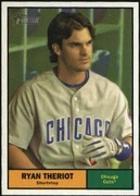 2010 Topps Heritage Ryan Theriot Baseball Card