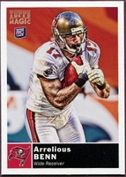 2010 Topps Magic Arrelious Benn Rookie NFL Football Card