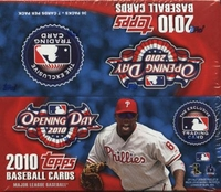 2010 Topps Opening Day Baseball Cards Box