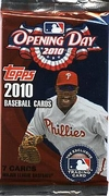 2010 Topps Opening Day Baseball Cards Pack