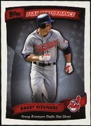 2010 Topps Peak Performance Grady Sizemore Baseball Card