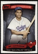 2010 Topps Peak Performance Roy Campanella Baseball Card