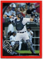 2010 Topps Red Border A.J. Pierzynski Baseball Card