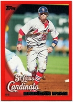 2010 Topps Red Border Brendan Ryan Baseball Card
