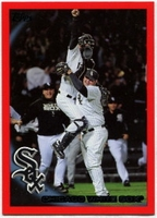2010 Topps Red Border Chicago White Sox Team Baseball Card