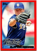 2010 Topps Red Border Clayton Richard Baseball Card