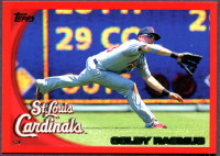 2010 Topps Red Border Colby Rasmus Baseball card