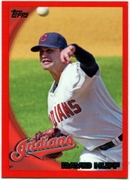2010 Topps Red Border David Huff Baseball Card