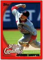 2010 Topps Red Border Jason Motte Baseball Card