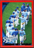 2010 Topps Red Border Kansas City Royals Baseball Card