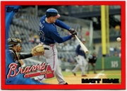2010 Topps Red Border Matt Diaz Baseball Card