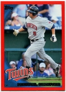 2010 Topps Red Border Michael Cuddyer Baseball Card