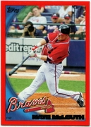 2010 Topps Red Border Nate McLouth Baseball Card