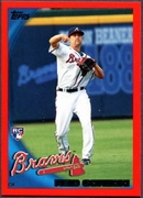2010 Topps Red Border Reid Gorecki Baseball Card