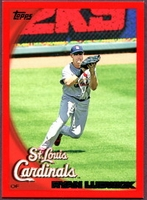 2010 Topps Red Border Ryan Ludwick Baseball Card