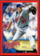 2010 Topps Red Border Scott Baker Baseball Card